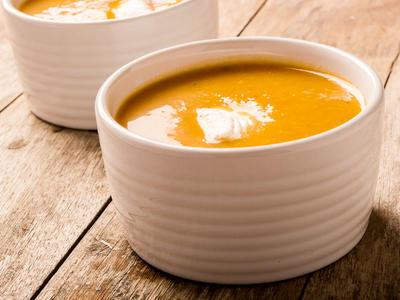 Autumn Squash and Apple Soup