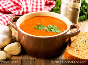 Mom's Leek And Tomato Soup