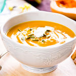 Creamy Squash, Apple, and Corn Bisque