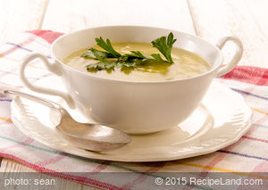 Cheesy Mashed Potato Soup