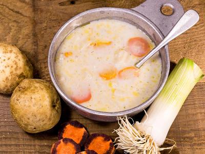 German Bacon Potato Soup