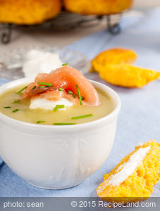 Chef Andrew Berman's Potato-Horseradish Soup