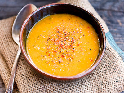 Mom's Cream Of Carrot Soup