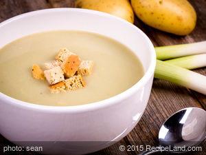 Mom's Potato-Leek Soup