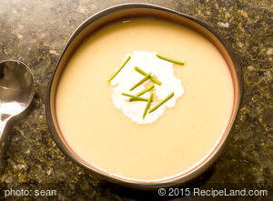 Chilled Leek and Potato Soup