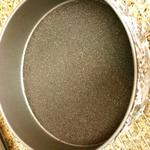 Crust Pressed on bottom of pan
