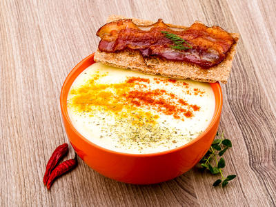 Baby Doe's Bacon Cheese Soup