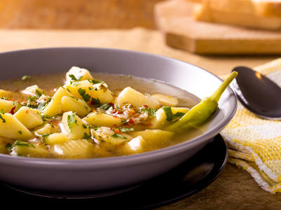 Tom's Onion and Potato Soup
