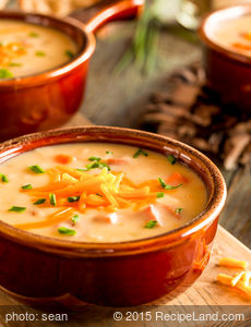 Delicious Beer Soup with Cheese