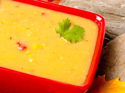 Creamy Corn and Bell Pepper Chowder