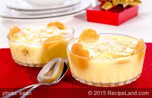 Moms' Banana Custard Pudding