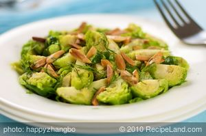Brown Butter Brussels Sprouts