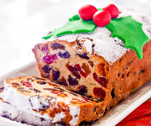 Whole Wheat Christmas Cake