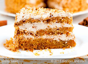 Carrot Passion Layer Cake