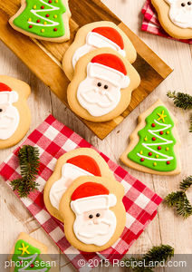 Classic Christmas Cut-Outs Cookies