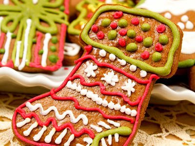 T.M.'s Gingerbread Cookies