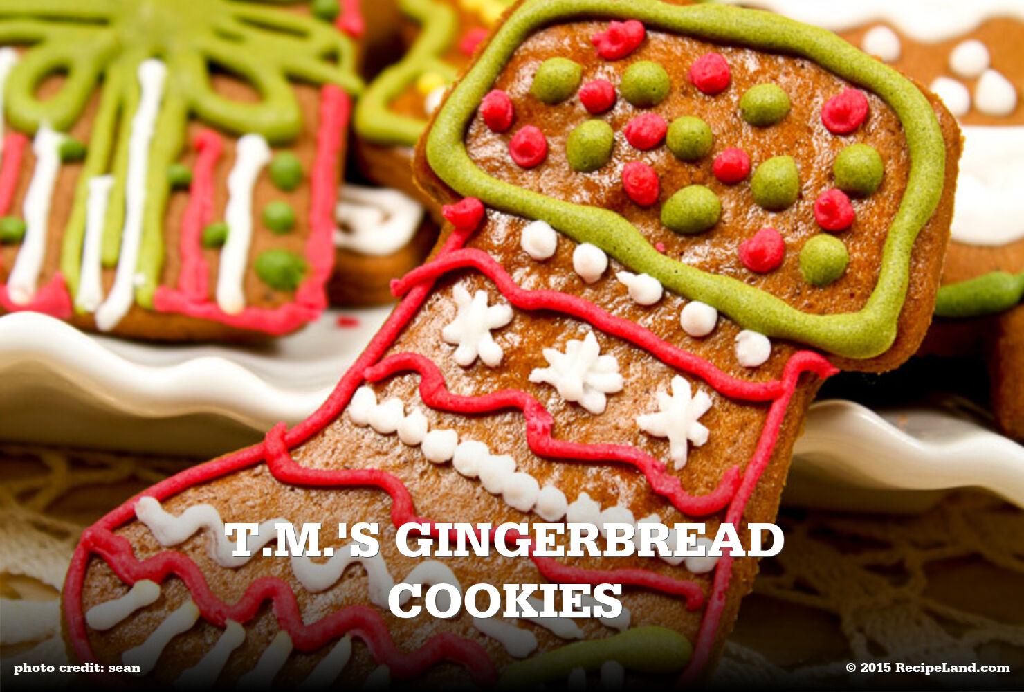 T.M.'s Gingerbread Cookies