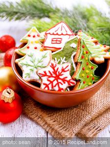 Mom's Christmas Ornament Cookies