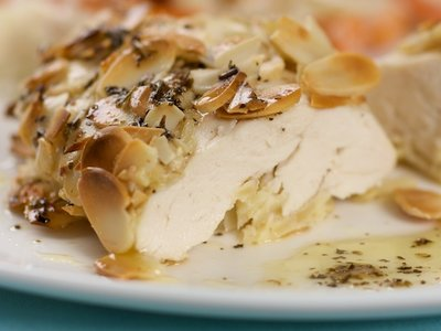 Almond-Crusted Chicken Breasts