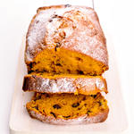 Hazelnut Pumpkin Bread
