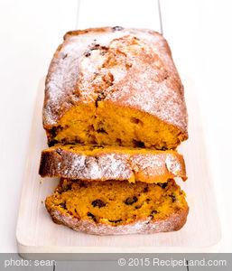 Hazelnut Pumpkin Bread