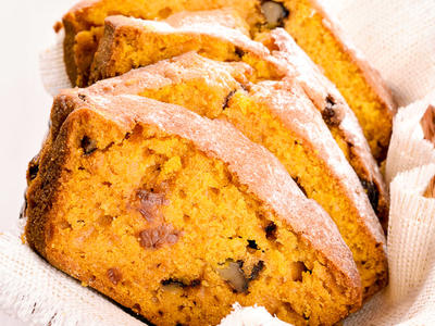 Pecan Spiced Pumpkin Bread