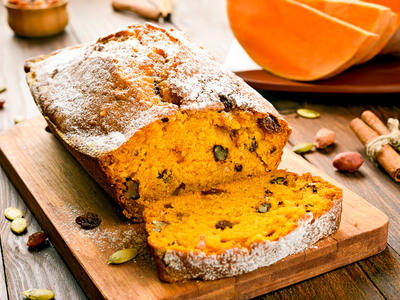 Bread Machine Pumpkin and Raisin Bread