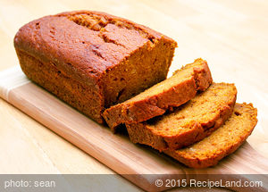 Favorite Spiced Pumpkin Bread