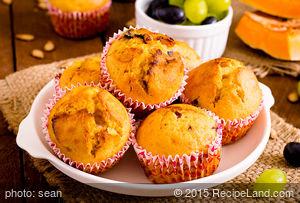 Mom's Spice Pumpkin Muffins