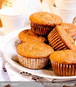 Fat-Free Pumpkin Bran Muffins