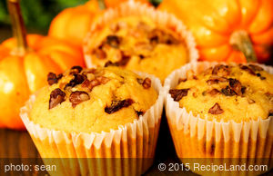 Best Ever Pumpkin Muffins