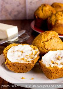 Pumpkin Muffins (Low-fat and Sugar-free)