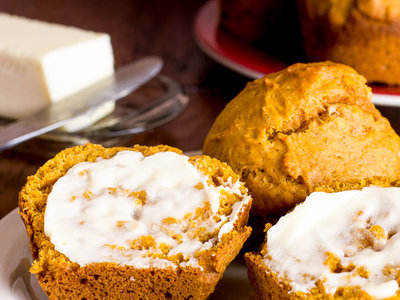 Pumpkin Muffins (Low-fat and Sugar-free)