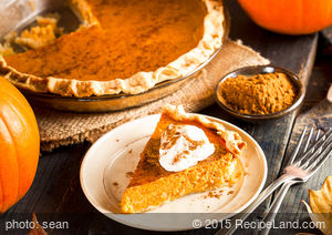 Dakota Prairie Pumpkin Pie