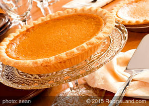 Grandma Cottington's Pumpkin Pie