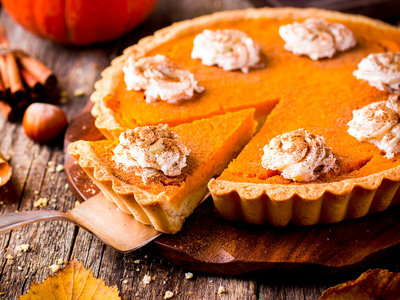 Party Pumpkin Pie