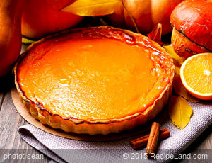 Kitty's Pumpkin Pie