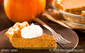 Light Pumpkin Pie