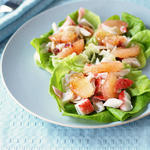 Crab n' Pink Grapefruit Salad