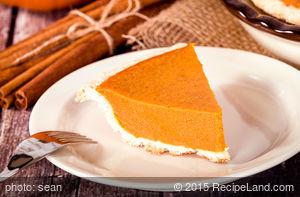 President Taft Pumpkin Pie