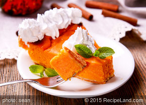 Favourite  Pumpkin Chiffon Pie