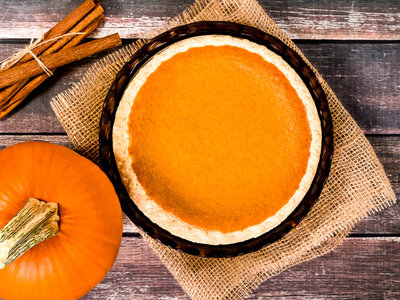 Pumpkin Light Pie