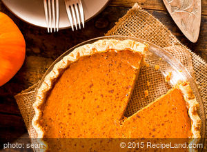 Dave's Light Pumpkin Pie