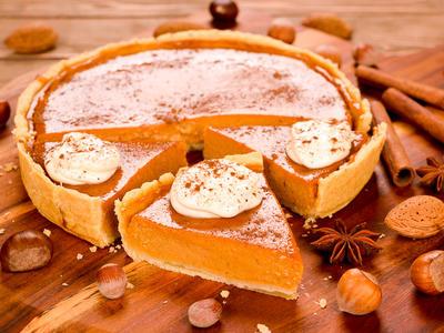 Delicious Thanksging Pumpkin Pie