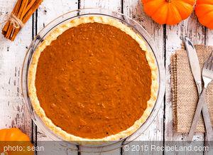 Silky Vegan Pumpkin Pie