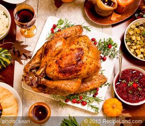Roasted Maple Orange Glazed Turkey