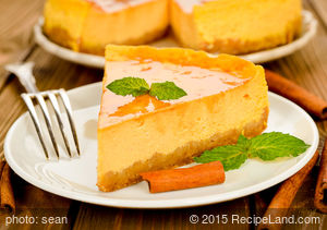 Fluffy Pumpkin Pie Cheesecake
