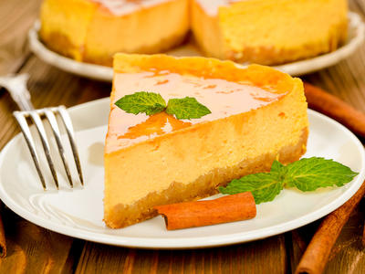 Fluffy Pumpkin Pie Cheesecake