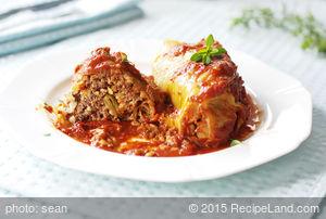 Crockpot Cabbage Rolls