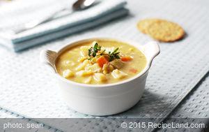 Granny's Chunky Potato-Leek Soup